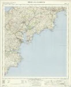 Truro and Falmouth OS OneInch Map