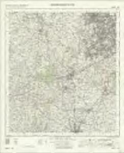 Kidderminster OS OneInch Map