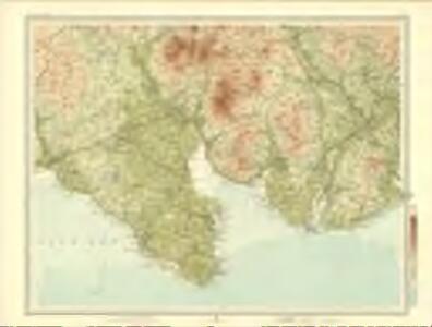 Wigtown - Bartholomew's 'Survey Atlas of Scotland'