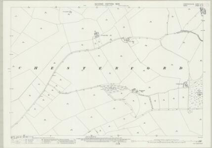 Cambridgeshire LX.5 (includes: Great Chesterford; Little Chesterford) - 25 Inch Map