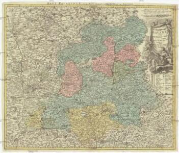 Palatinatus Bavariae vulgo die Obere Pfaltz in omnes ejusdem status et praefecturas accurate divisus