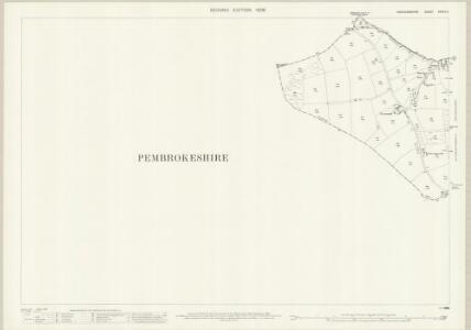 Cardiganshire XXXVII.11 (includes: Cardigan; Monington; Moylgrove; St Dogmaels) - 25 Inch Map