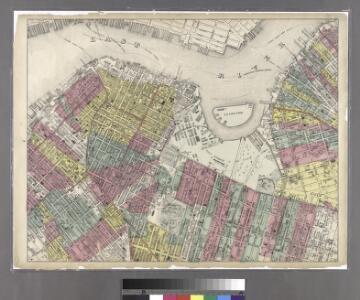 Sheet 6: Map encompassing Boerum Hill, Cobble Hill, Brooklyn Heights, Downtown Brooklyn, Vinegar Hill, Fort Greene, Clinton Hill, Brooklyn Navy Yard and South Williamsburg.