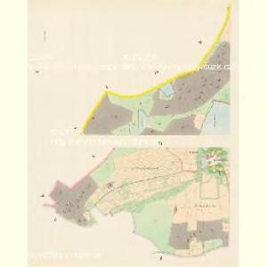 Hurek - c2430-1-002 - Kaiserpflichtexemplar der Landkarten des stabilen Katasters