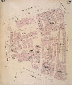 Insurance Plan of London Vol. XI: sheet 336