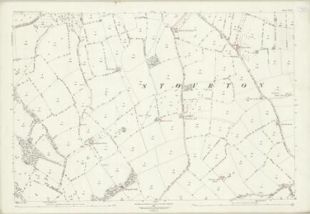Warwickshire LVII.6 (includes: Cherington; Long Compton; Stourton; Whichford) - 25 Inch Map