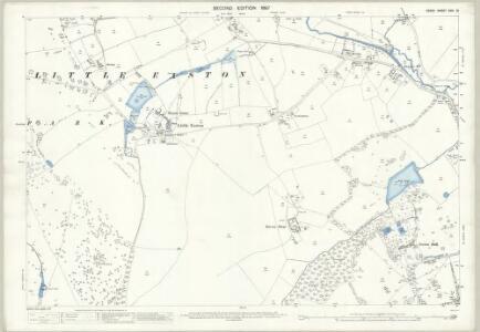Essex (1st Ed/Rev 1862-96) XXIII.12 (includes: Great Dunmow; Great Easton; Little Easton) - 25 Inch Map