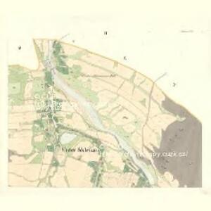 Sklenau (Sklenowa) - m2737-1-002 - Kaiserpflichtexemplar der Landkarten des stabilen Katasters