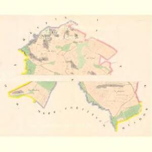 Lhotta (Lhota) - c7452-1-001 - Kaiserpflichtexemplar der Landkarten des stabilen Katasters