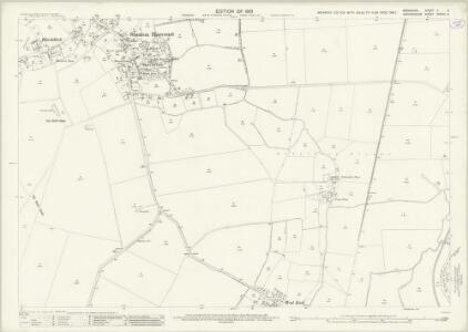 Oxfordshire XXXVIII.3 (includes: Cumnor; Northmoor; Stanton Harcourt) - 25 Inch Map