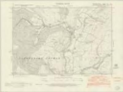 Merionethshire XLIII.NE - OS Six-Inch Map
