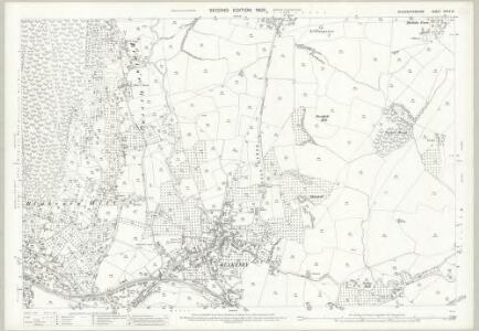 Gloucestershire XXXIX.12 (includes: Awre) - 25 Inch Map