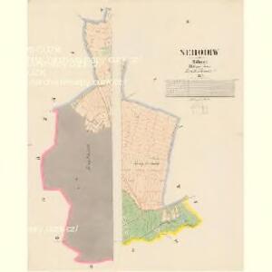 Nehodiw - c5008-1-001 - Kaiserpflichtexemplar der Landkarten des stabilen Katasters
