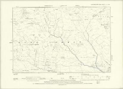 Yorkshire XLVII.NW - OS Six-Inch Map