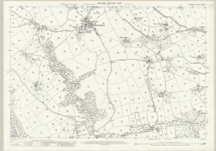 Devon XXXI.14 (includes: Ashreigney; Burrington) - 25 Inch Map