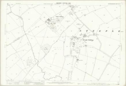 Huntingdonshire XIII.5 (includes: Great Gidding; Hamerton; Little Gidding; Steeple Gidding; Winwick) - 25 Inch Map