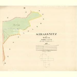 Strassnitz - m2902-1-011 - Kaiserpflichtexemplar der Landkarten des stabilen Katasters