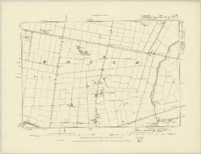 Cambridgeshire IV.NW - OS Six-Inch Map