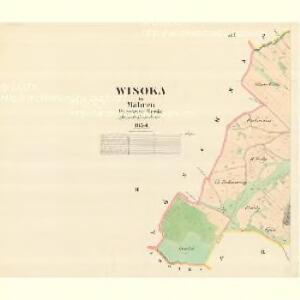 Wisoka - m3513-1-002 - Kaiserpflichtexemplar der Landkarten des stabilen Katasters