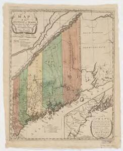 A map of the district of Maine : drawn from the latest surveys and other best authorities