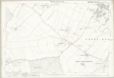 Buckinghamshire XXXV.14 (includes: Ashley Green; Berkhampstead Urban; Northchurch) - 25 Inch Map