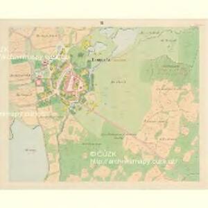Lomnitz - c4219-1-007 - Kaiserpflichtexemplar der Landkarten des stabilen Katasters
