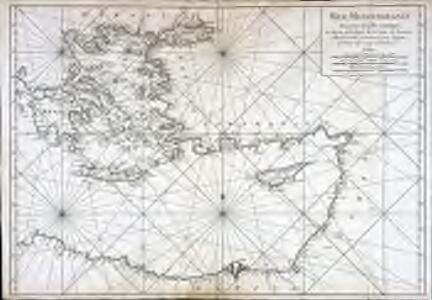 Carte de la mer Mediterranée, 3