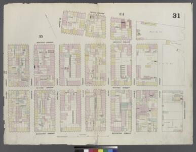 Plate 31: Map bounded by Houston Street, Avenue D, 3rd Street, East Street, Rivington Street, Willett Street