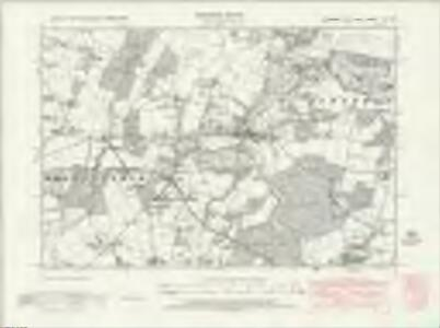 Hampshire & Isle of Wight XC.SE - OS Six-Inch Map