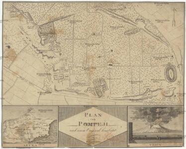 Plan von Pompeji