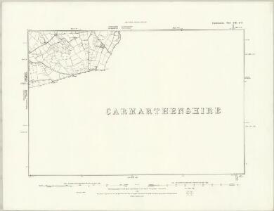 Pembrokeshire XII.NE - OS Six-Inch Map