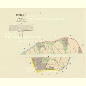 Borowa - c0385-1-001 - Kaiserpflichtexemplar der Landkarten des stabilen Katasters