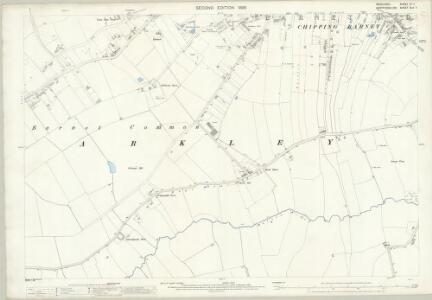 Middlesex VI.7 (includes: Arkley; Chipping Barnet; Totteridge) - 25 Inch Map
