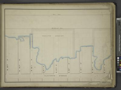 [Map bounded by Pier - Line, W. 61st St, Eleventh     Avenue, W. 53th St; Including Twelfth Avenue, W. 54th St, W. 55th St, W. 56th    St, W. 57th St, W. 58th St, W. 59st St, W. 60nd St]