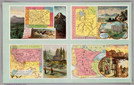 Colorado, Utah, Montana, Minnesota.
