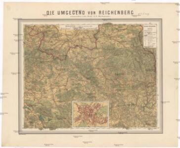 Die Umgegend von Reichenberg