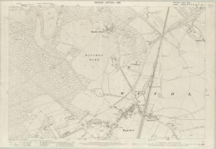 Berkshire XLVII.11 (includes: Windlesham; Winkfield) - 25 Inch Map