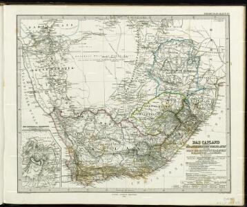 Das Capland nebst den süd-afrikanischen Freistaaten un dem Gebiet der Hottentotten & Kaffern.