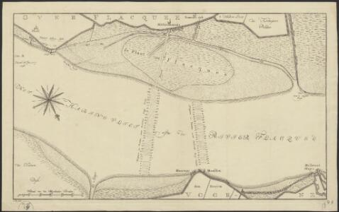 [Map of the northern part of Overflakkee]