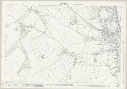 Derbyshire XLIV.12 (includes: Duffield; Milford; Weston Underwood; Windley) - 25 Inch Map