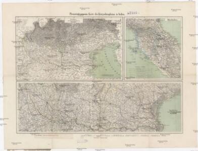 Flemming's neueste Karte des Kriegsschauplatzes in Italien