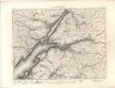 Ben Nevis - OS One-Inch map