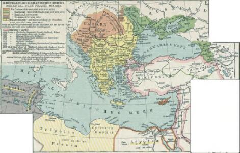 II. Rückgang des Osmanischen Reichs (Orientalische Frage) seit 1683