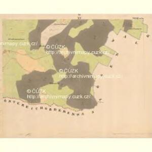 Glöckelberg - c9317-3-015 - Kaiserpflichtexemplar der Landkarten des stabilen Katasters