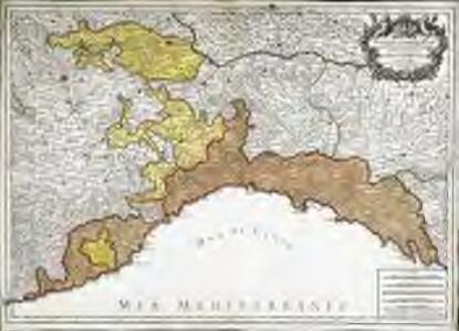 Partie du duché de Milan, la principauté de Piémont, le Montferrat; et la republi.que de Genes