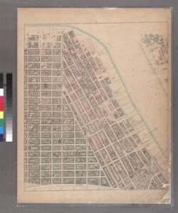 Sheet 4: [Bounded by Bowery, Rivington Street, East Street,Grand Stret, Water Street, Corlears Street, (Pier Line) South Street, James Slip, James Street, Madison Street and Catherine Street.]