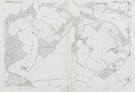 Wiltshire XXXVII.6 (includes: Little Bedwyn; Shalbourne) - 25 Inch Map