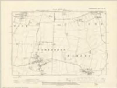 Cambridgeshire XLVI.NE - OS Six-Inch Map
