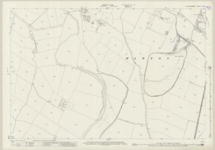 Nottinghamshire XXXV.11 (includes: Balderton; Farndon; Hawton) - 25 Inch Map