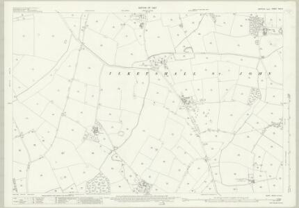 Suffolk XVII.4 (includes: Bungay; Ilketshall St Andrew; Ilketshall St John; Ilketshall St Lawrence; Ilketshall St Margaret; Mettingham) - 25 Inch Map